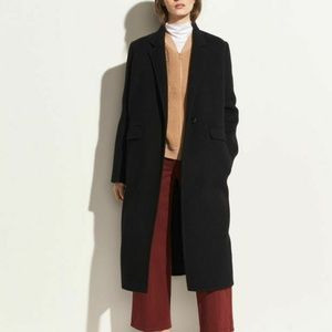Vince Oversize Long Wool and alpaca-blend coat